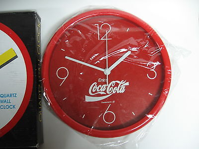 "Coca-Cola Quartz 10"" Clock - NEW"