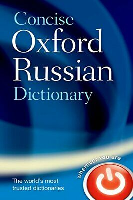 Concise Oxford Russian Dictionary Hardback Book The Cheap Fast Free Post