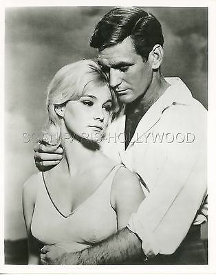 Yvette Mimieux Rod Taylor H.g. Wells  The Time Machine 1960 Vintage Photo R70 #2