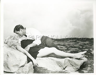 Yvette Mimieux Rod Taylor H.g. Wells  The Time Machine 1960 Vintage Photo R70 #5