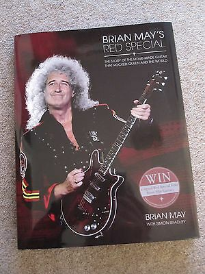 Queen Brian May - Red Special Hardback Guitar Book - 2014 - Mint
