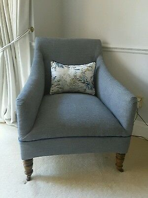 Victorian armchair new upholstery