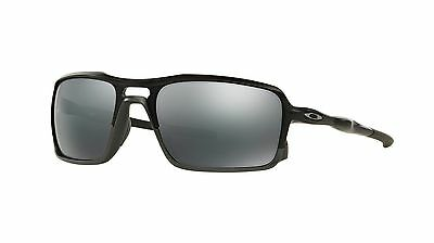 Oakley Men's Triggerman Black Polarized Lenses Rectangular Sunglasses Matt Frame