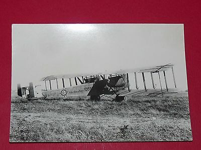Photo Aviation Guerre 14-18 Allemagne 1918 Bombardier Nuit Bimoteur