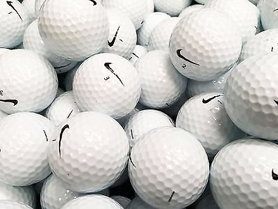 36 x NIKE REFINISHED GOLF BALLS PRACTICE QUALITY