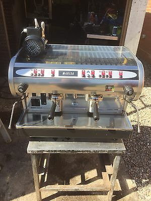 Cma marisa 2 group traditional coffee machine maker barista ex costa serviced 1 - Costa coffee head office telephone number ...