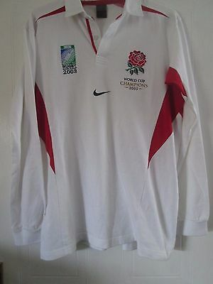 England World Champions 2003 Rugby Union Shirt Size XL /41125