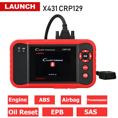 Newest Launch X431 CRP123 OBD2 Diagnostic Scanner Engine A/T ABS SRS Better VII+
