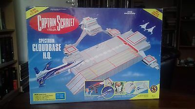 Captain Scarlet Spectrum Cloudbase &  Mysterons Light Phaser Boxed Unused  1993
