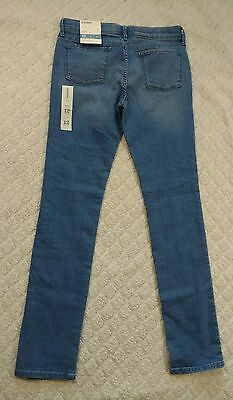 Old Navy Skinny Jeans Youth Girls Size 12 Regular New with Tags Adjustable Waist