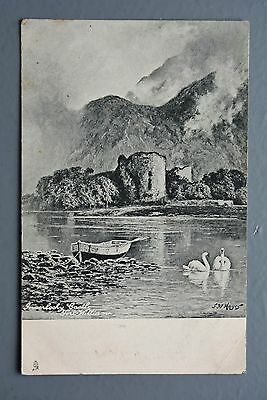 R&L Postcard: Scotland, Inverlochy Castle Fort William, Early Tuck, 1903