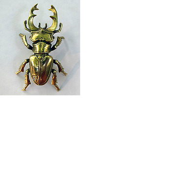 Small Solid Bronze Beetle Miniature by N.Fedosov.