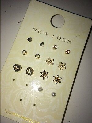 Pack Of 7 Lovely Earings From Newlook