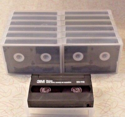 3M 8mm Data Tape D8-112 Quantity of 13 One Pass Audio Masters