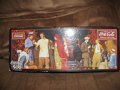 Coca Cola 500 Piece Puzzle 1999 NEW Still Sealed