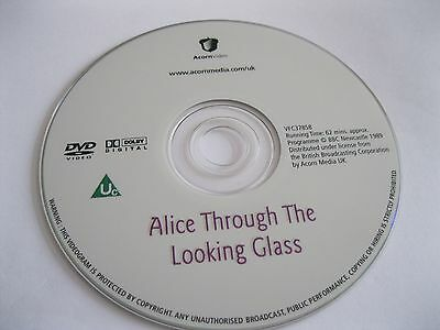 ALICE THROUGH THE LOOKING GLASS read by P Davison - DISC ONLY (DS13) {DVD}
