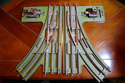 Lionel Standard 210 Switch Tracks For Layout Manual Throws