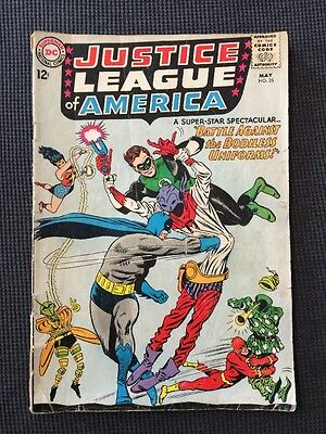 Justice League of America #35 Silver Age 1965 Gd/Vg