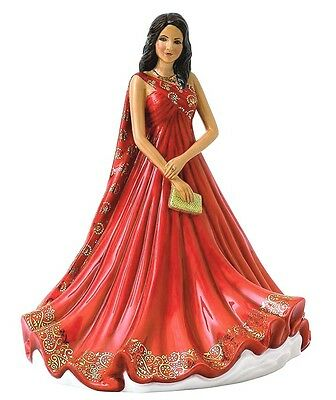 Royal Doulton ANIKA Pretty Ladies Traditional Figurine HN5802 Red Gown New
