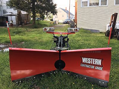 Snow Plow ; Western V ; 8 Foot - 6 Inches Long