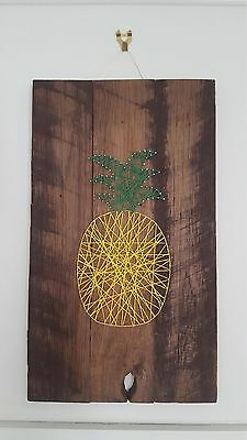 Pineapple String Art - Handcrafted - Home Decor Wall Art