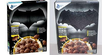2016 ERROR box BATMAN vs SUPERMAN Dawn of Justice movie cereal Plus 2 Extras MIB