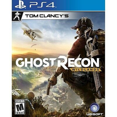 Tom Clancy's Ghost Recon: Wildlands (PlayStation 4 PS4 Game) NEW Sealed Disk