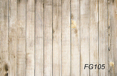 5X3FT Wood Board Vinyl Photography Props Studio Backdrop Photo Background FG105