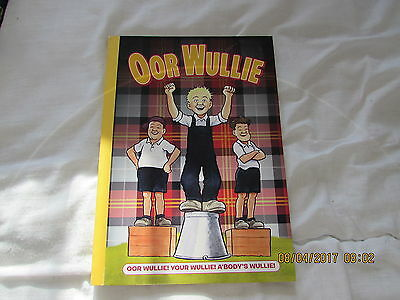 Oor   Wullie    Annual  2012 Very  Good Condition For Age