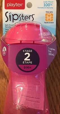 Playtex Sipsters Stage 2 Spout Sippy Cups - 9 Ounce (375915L)
