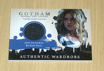 2017 Cryptozoic Gotham season 2 wardrobe costume Erin Richards BARBARA KEAN M09