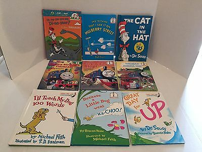 Lot of 9 Dr. Seuss Hardcover Children's Book VGC