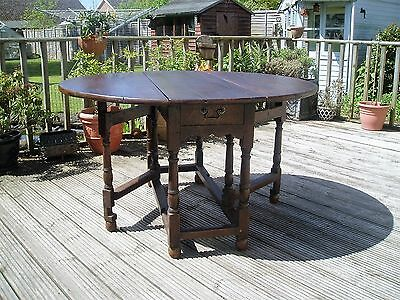 Antique Georgian Oak Gateleg Table