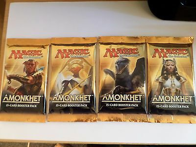Magic The Gathering Amonkhet X4 Booster Packets