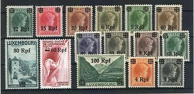 Luxembourg 17/32 SET MINT (75265