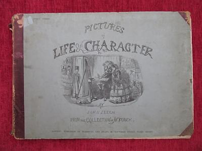 1864 Pictures Of Life & Character 3rd Series John Leech Victorian Drawings us7