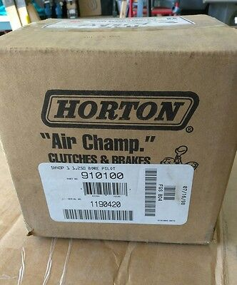 New In Box Horton / Nexen 910100 5H40P 1.250 Bore  Toothed Clutch