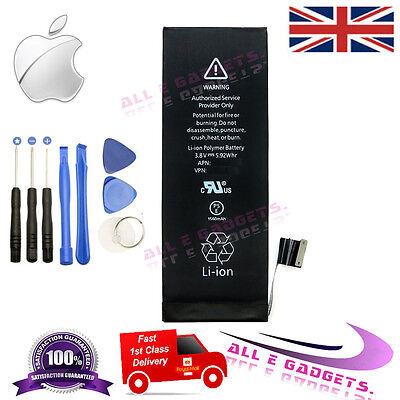 New 1560mAh Li-ion Internal Battery Replacement for Apple iPhone 5S 5C +Tools