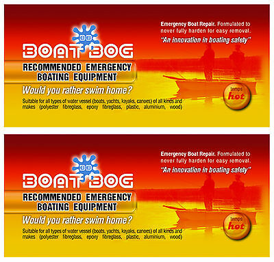 Boat Bog 100g - Emergency safety equipment - leak plug (2 for $26.95) (2BtB100W)