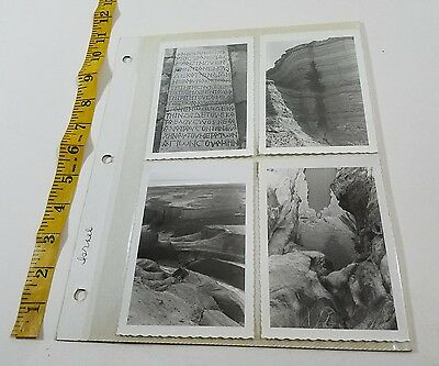 50's or 60's lot 8 Vintage Photos ISRAEL Old Architecture Buildings Scenery  p