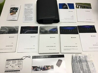 Lexus GS 350 2016 Owners Manual Books/  Navigation/ In Case,  Free Shipping