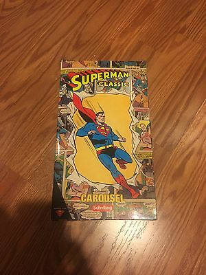 Superman Classic Carousel Tin Toy by Schylling 2001 Rare DC Comics
