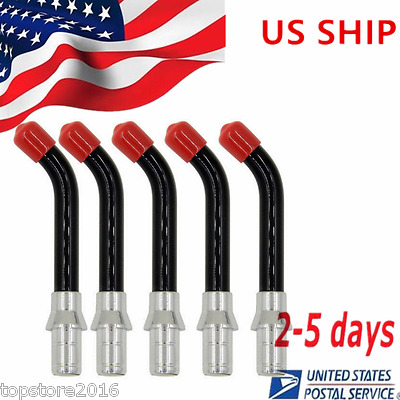 5pcs Universal dental LED Curing Light Cure Guide Rod Tip 10mm New