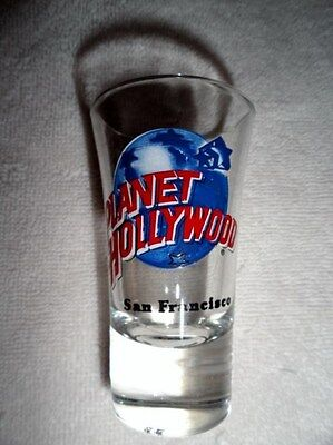 Planet Hollywood Shot Glass From San Francisco