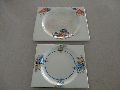 "Two ""The  Biarritz"" Royal Staffordshire, Dish Plates. No. 784849"