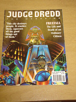 2000Ad Megazine #48 Vol 2 Judge Dredd*