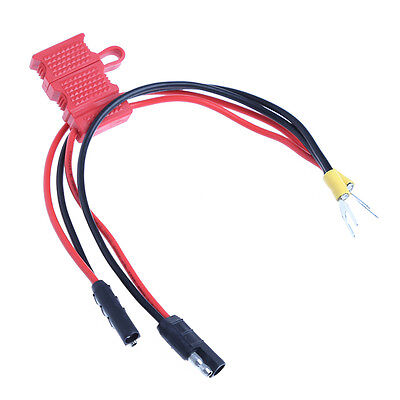 2-In-1 Power Cable Cord For Motorola Repeater Mobile Radio GM338 GM360 With Fuse