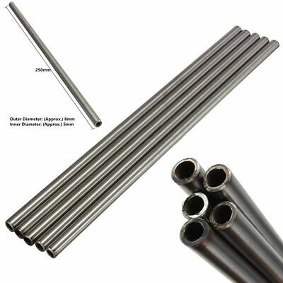 "10""  250mm Length 304 Seamless Stainless Steel Capillary Tube OD 8mm ID 6mm 1PCS"
