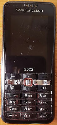 Sony Ericsson G502 Mobile Phone Handset - Handset Only - Untested