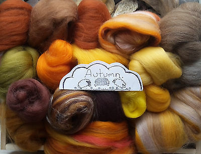 100g Wool Roving off Cuts / Merino, British, Needle felting, Wet Felting, Nuno,